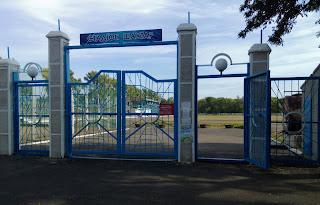 Новогродовка. Стадион «Шахтёр»