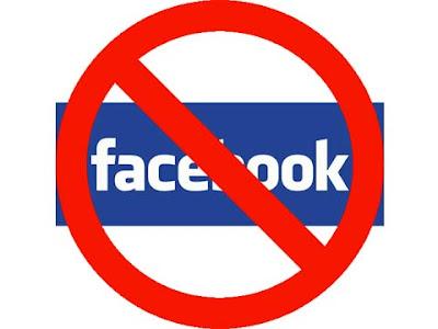 ''No'' a Facebook