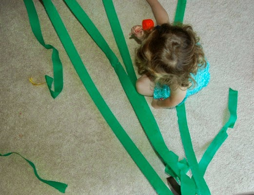 jungle vine gross motor activity for kids