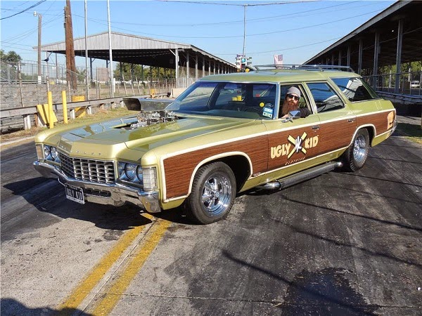 Gas Monkey Chevrolet Kingswood Custom Station Wagon de 1971