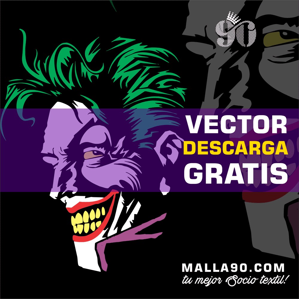 descarga vector del joker back to gotham