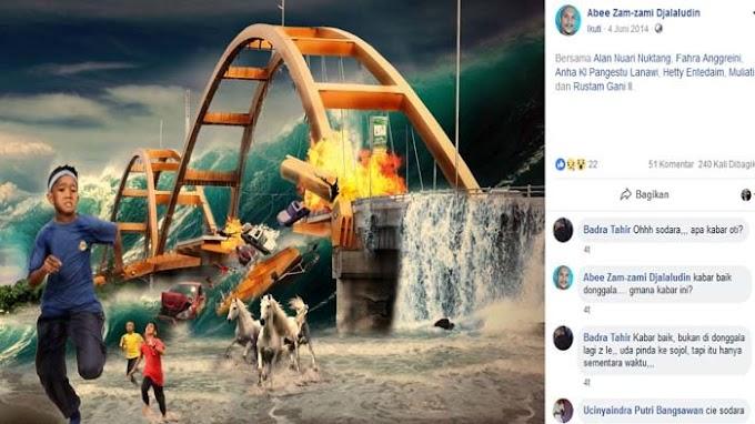A Digital Painting From 4 Years Ago Predicting Tsunami That Hit Palu