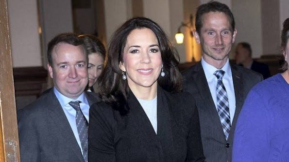 Crown Princess Mary of Denmark attended a conference on humanitarian crisis, sexual and reproductive health and rights at Christianborg Palace