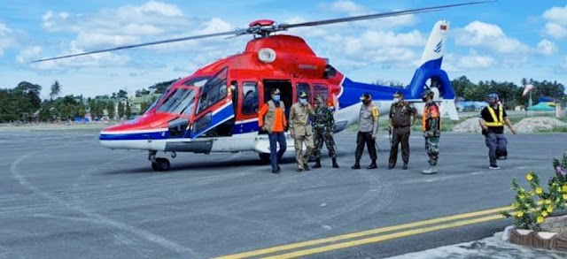 Kepala BNPB Meninjau Lokasi Banjir Bandang Kabupaten Luwu Utara