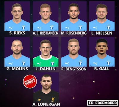 PES 2017 Facepack Malmo FF by FR Facemaker