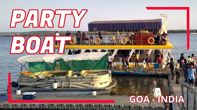 Party Boat in Goa