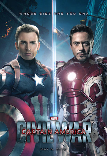 Download Captain America Civil War 2016 Dual Audio Hindi 480p HDTC