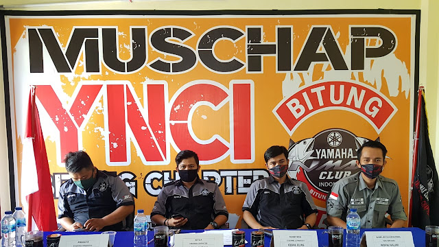 Muschap Ynci Bitung Bab Lanjutkan 2 Priode 2021-2023