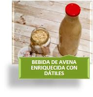 BEBIDA DE AVENA ENRIQUECIDA CON DÁTILES