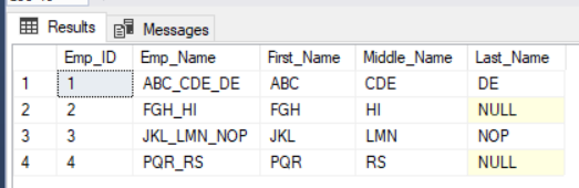 How to use XML Method to Split a Single column into Multiple