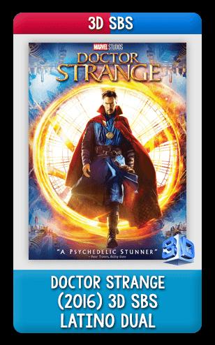 Resultado de imagen para Doctor Strange 3D SBS (2016)