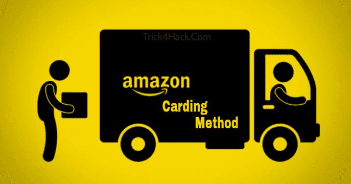 Amazon Carding New Method