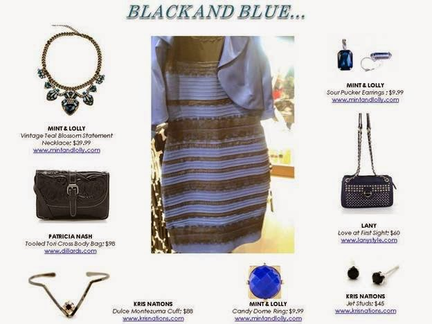 Black & Blue Dress