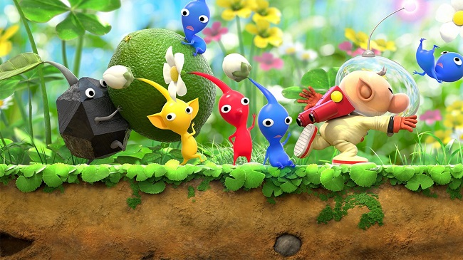Pikmin 3 Deluxe Gameplay