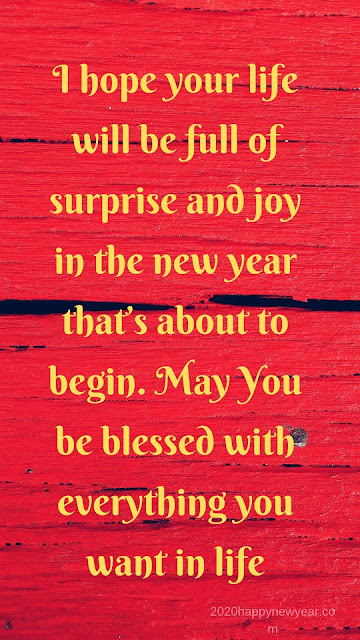 Best Happy New Year 2020 Messages to send anyone