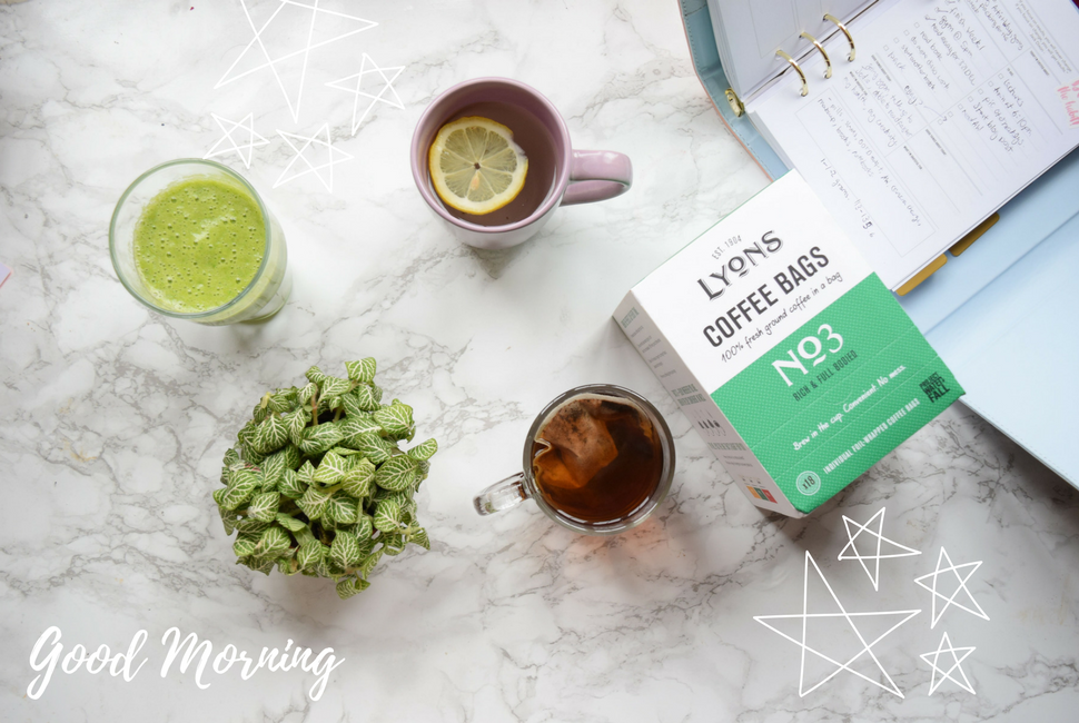 3 MORNING BEVERAGES TO ENERGISE YOU
