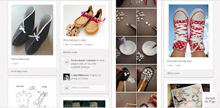zapatos, zapatería, customizar, tunear, bricomoda, refashion, diys