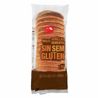 Pan de molde multisemillas sin gluten Hacendado
