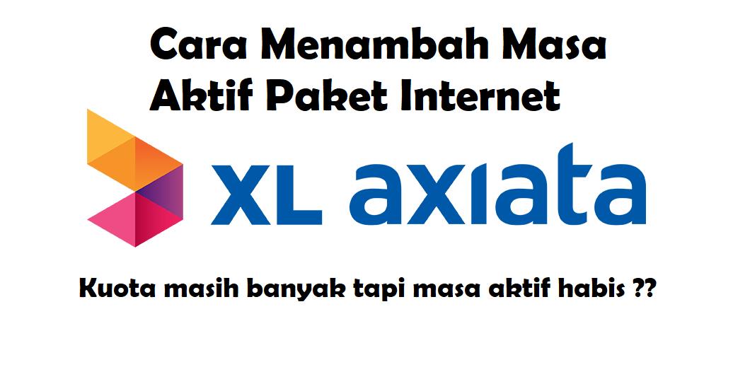 Cara Memperpanjang Masa Aktif Kuota XL - Paket Internet