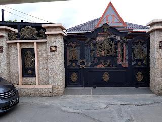 Pintu, Gerbang, Mewah, Pagar, Besi Tempa,