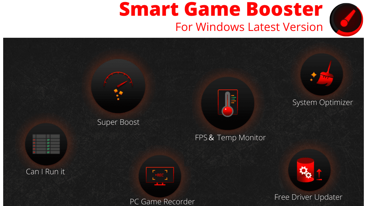 Smart Game Booster Download For Windows Latest Version