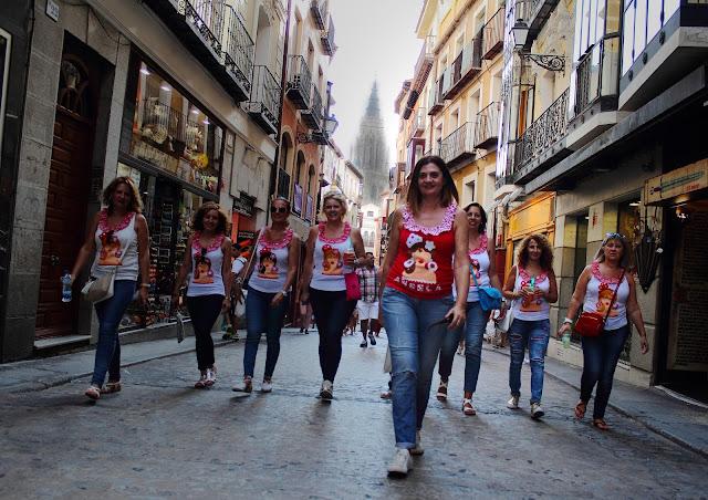 Despedida de soltera flamenca en Toledo. Pikapic