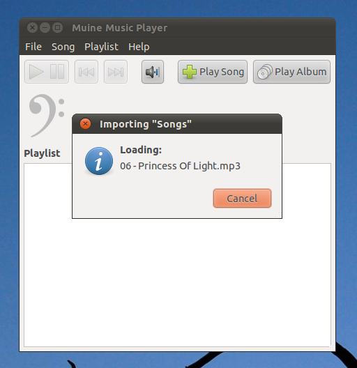 Muine: A Fast and Simple Music Player for GNU/Linux!