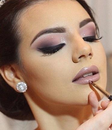 Mujer Estilo Y Belleza Maquillaje De Noche Para Novias 2017