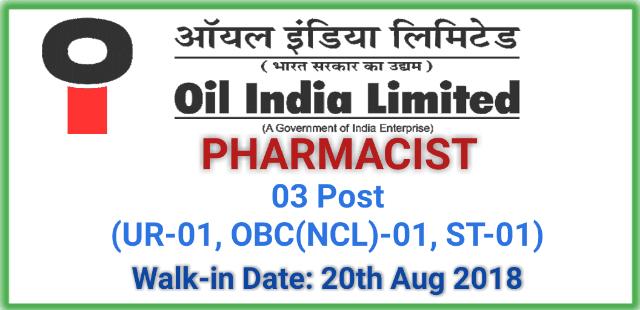 oil-india-limited-oil-recruitment-walk-in-pharmacist