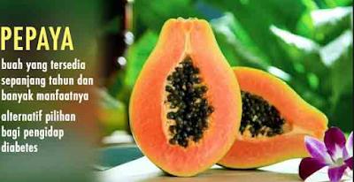 manfaat buah pepaya untuk kesehatan tubuh