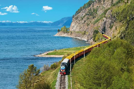 Trans-Siberian Railway train