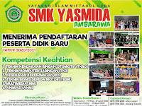 Desain Banner PPDB SMK Yasmida Ambarawa 2020 #3