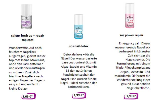 Neue essence Produkte | essence Sortimentswechsel Herbst & Winter 2016