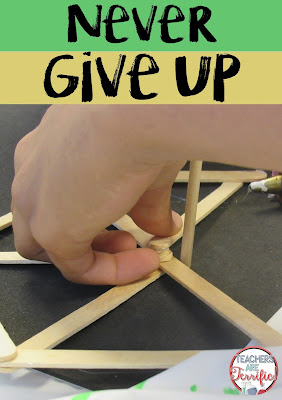 STEM Class is the place kids learn that failing creates new learning. It teaches perseverance, dedication to task, and that projects don't always like we expect. It is the place where kids learn to never give up! Read more on this blog post about best practices!