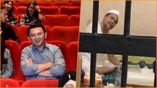 Bandingkan Ahok dengan Habib Rizieq, Ilham Bintang: Satu Diberi Karpet Merah, Satu Tidak