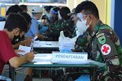 Pangdam XVIII/Kasuari : Garda Terdepan Kita Sekarang Adalah Tenaga Kesehatan