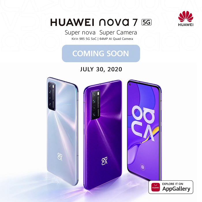 Huawei Nova 7 5G Philippines