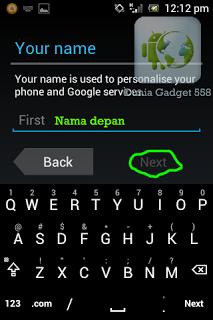 cara membuat akun gmail di hp android 4