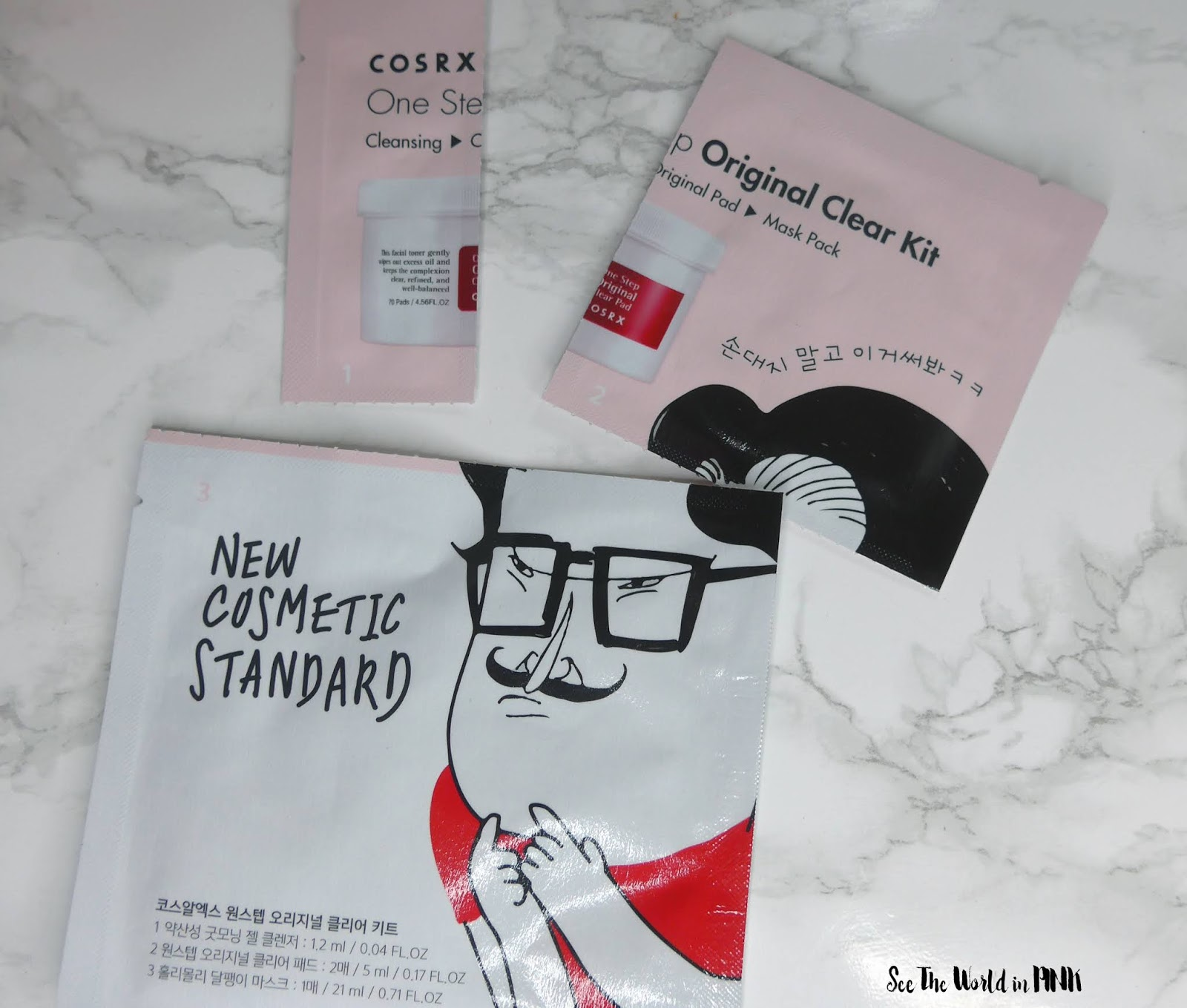 Cosrx One Step Original Clear Kit - Review and Try-on