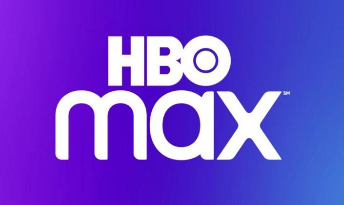 Imagem de capa: fundo arroxeado com a logo da HBO Max, em branco. A palavra HBO em negrito com o O sendo um círculo com um círculo branco por dentro.