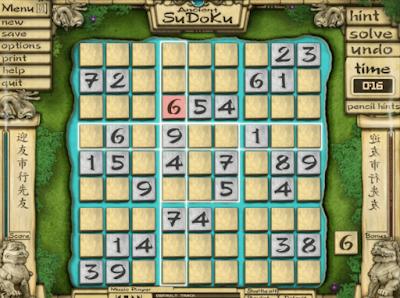 遠古數獨(Seths Puzzle Boxes),主題背景特別的數學益智遊戲!
