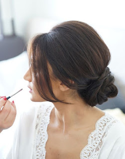 Updo hairstyles are versatile