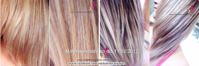 Mechas e Luzes no papel