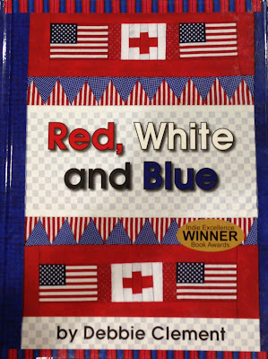 Red, White and Blue Picture Book by Debbie Clement