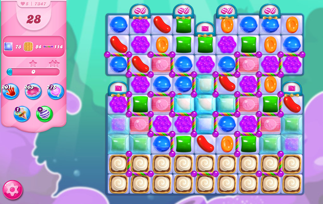 Candy Crush Saga level 7347