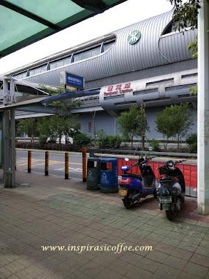 stasiun Tangwei di Shenzhen
