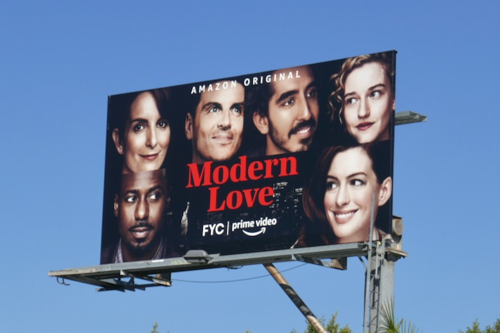 Modern Love season 1 FYC billboar