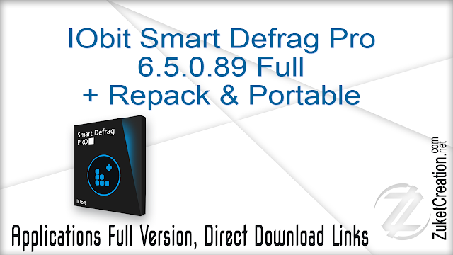 IObit Smart Defrag Pro 6.5.0.89 Full + Repack & Portable
