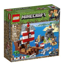 Minecraft The Pirate Ship Adventure Lego Set