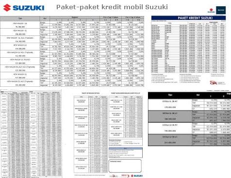 paket kredit mobil suzuki 2017